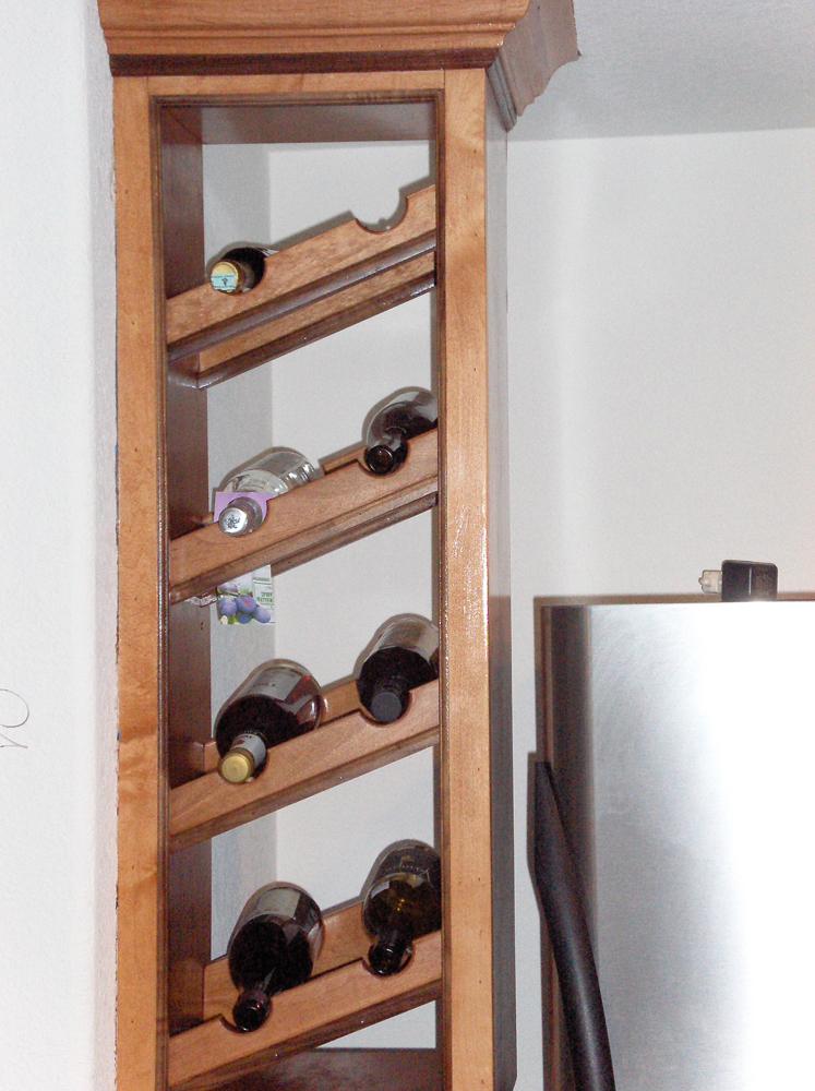 Custom Wine Rack | James Allen Builders | Sussex, WI