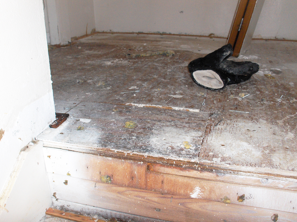 Water Damage Repair | Custom Remodeler | James Allen Builders
