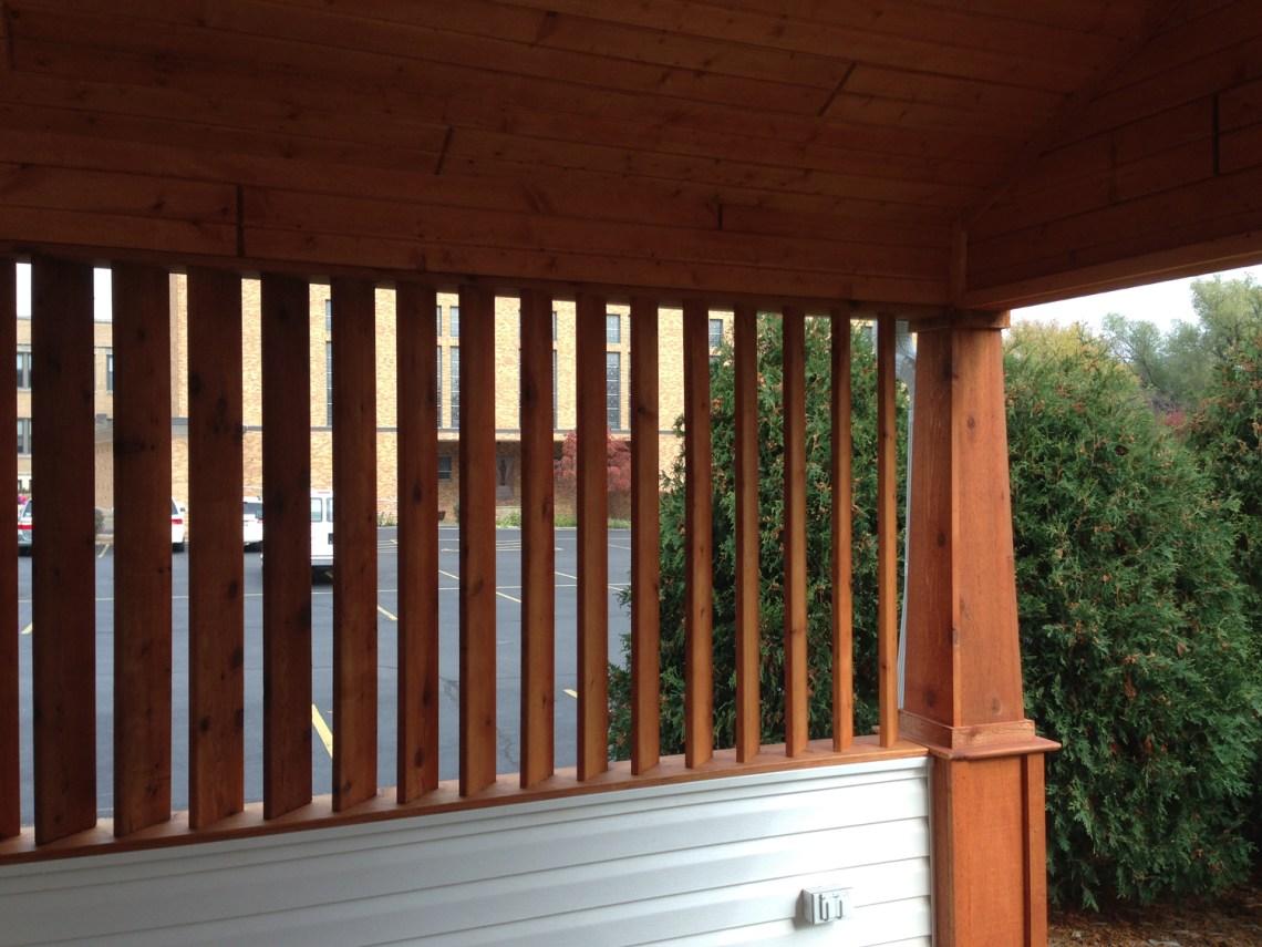 Custom Built Carport | James Allen Builders | Wauwatosa, WI