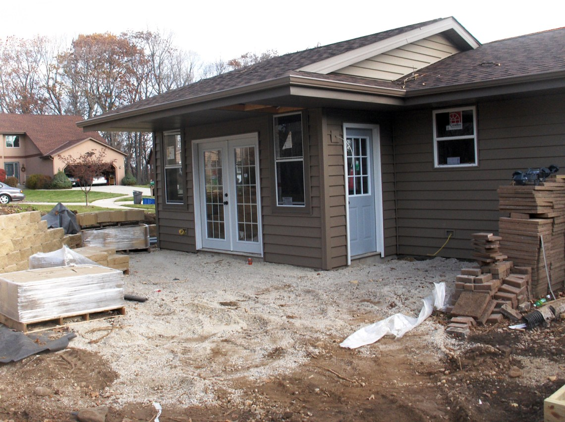 Home Addition Project | Milwaukee Contractor | James Allen Builders