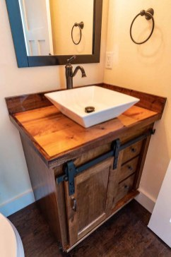 James Allen Builders Model Home Slinger WI | Powder Room