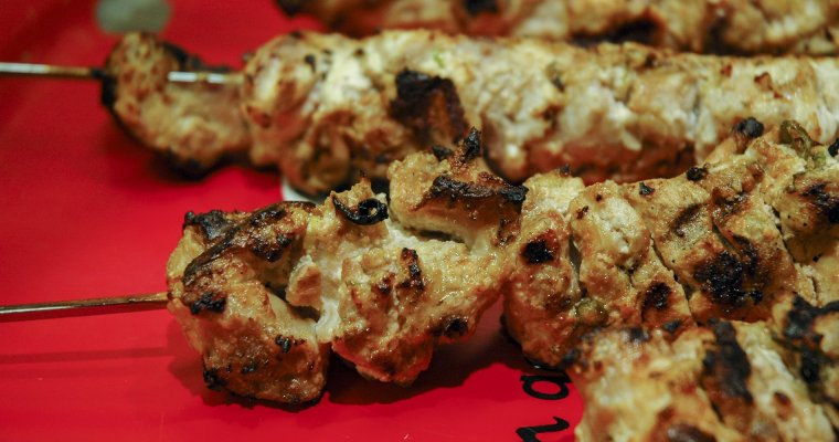 Russian Shashlik – Chicken Shish Kebab