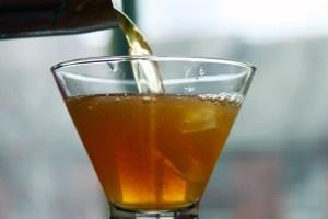 Gingersnap martini cocktail recipe