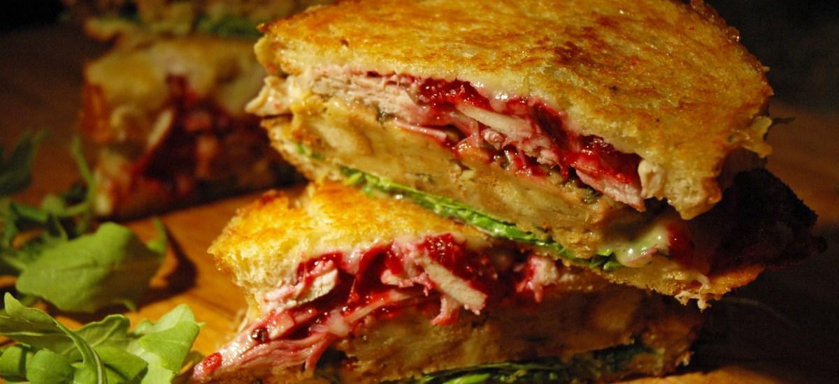 Grilled Thanksgiving Sandwich