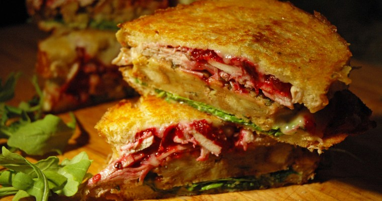 Grilled Thanksgiving Sandwich