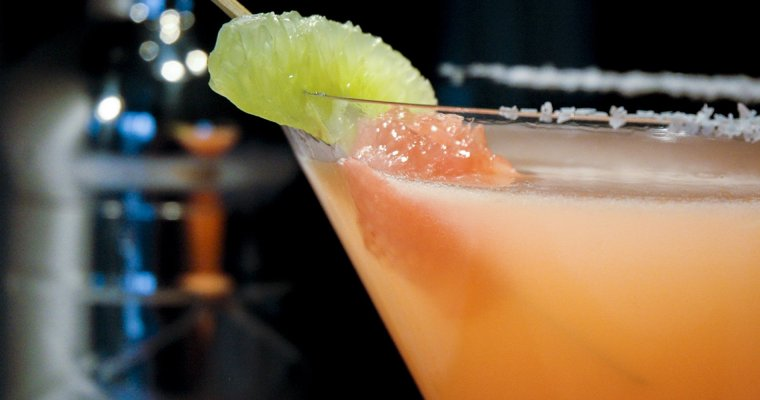 TGIF with a Grapefruit Margarita