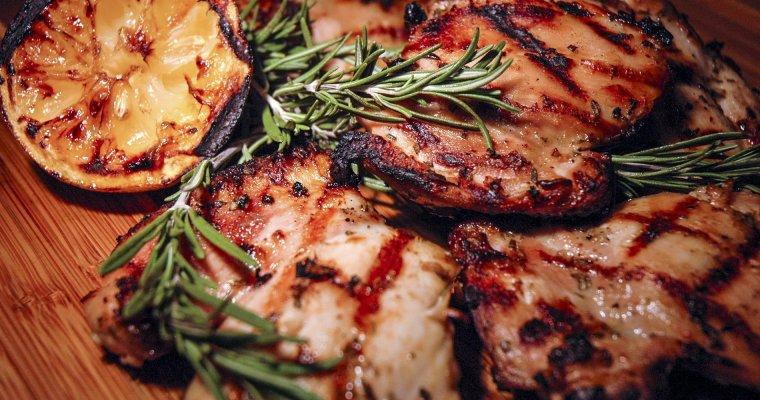 Grilled Rosemary Lemon Chicken