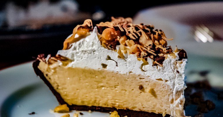No-bake Peanut Butter Cream Pie
