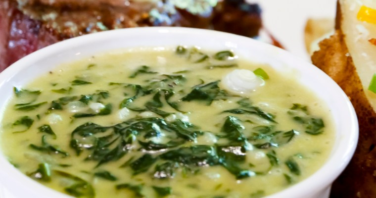 Steakhouse-style Creamed Spinach