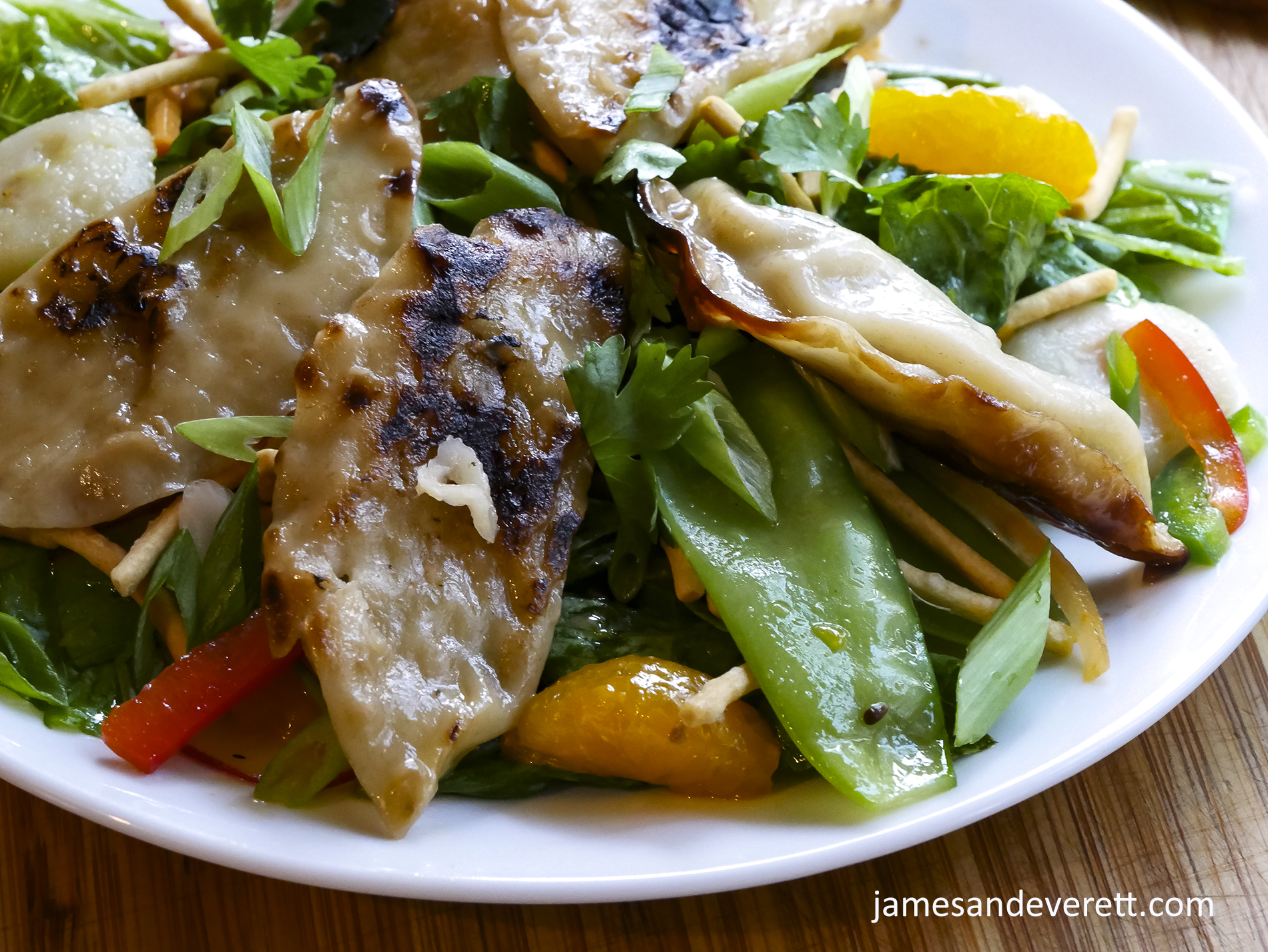 Pot Sticker Salad