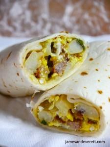 Make-ahead Breakfast Burritos