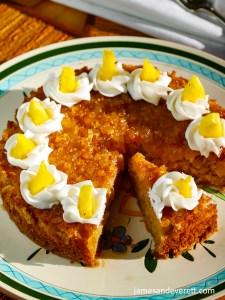 Fresh Pineapple Cake