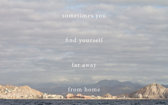 sometimes you find yourself