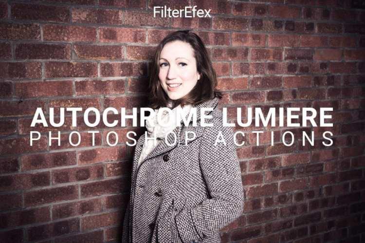 FilterEfex Autochrome Lumiere Photoshop Actions