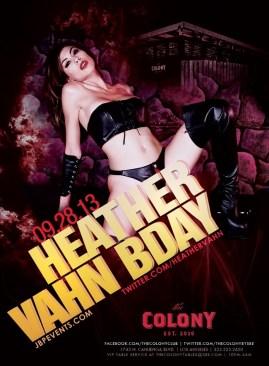 """Adult Star Heather Vahn Birthday at Colony"""