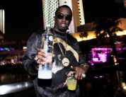 """Diddy Hosts Fight Night After-Party At Palms Pool Inside Palms Casino Resort In Las Vegas"""