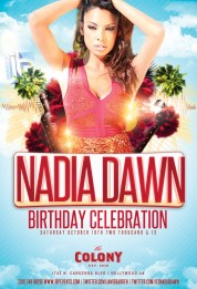 """Actress Nadia Dawn Birthday at Colony"""