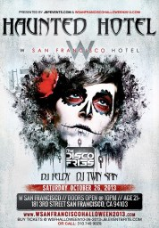 """W San Francisco Halloween"""