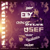 "y""Dre Sinatra at Colony Nightclub flyer image"""