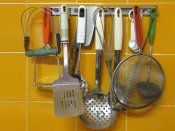 Items in the kitchen