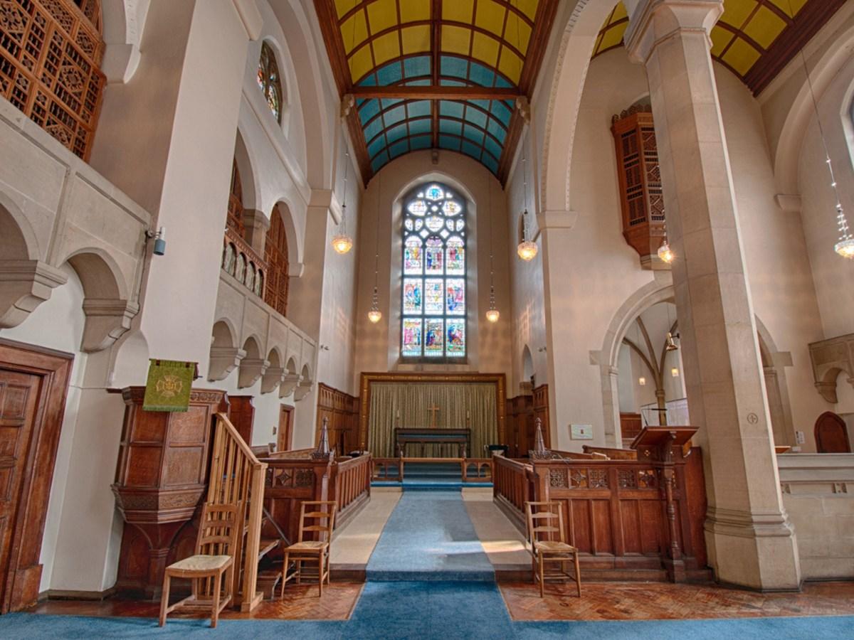 The Glorious Church of St. James' and St. Basil Fenham