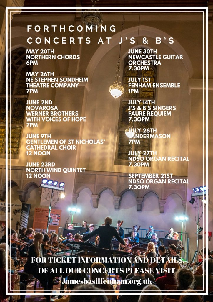 Summer Concerts Js and Bs 2018