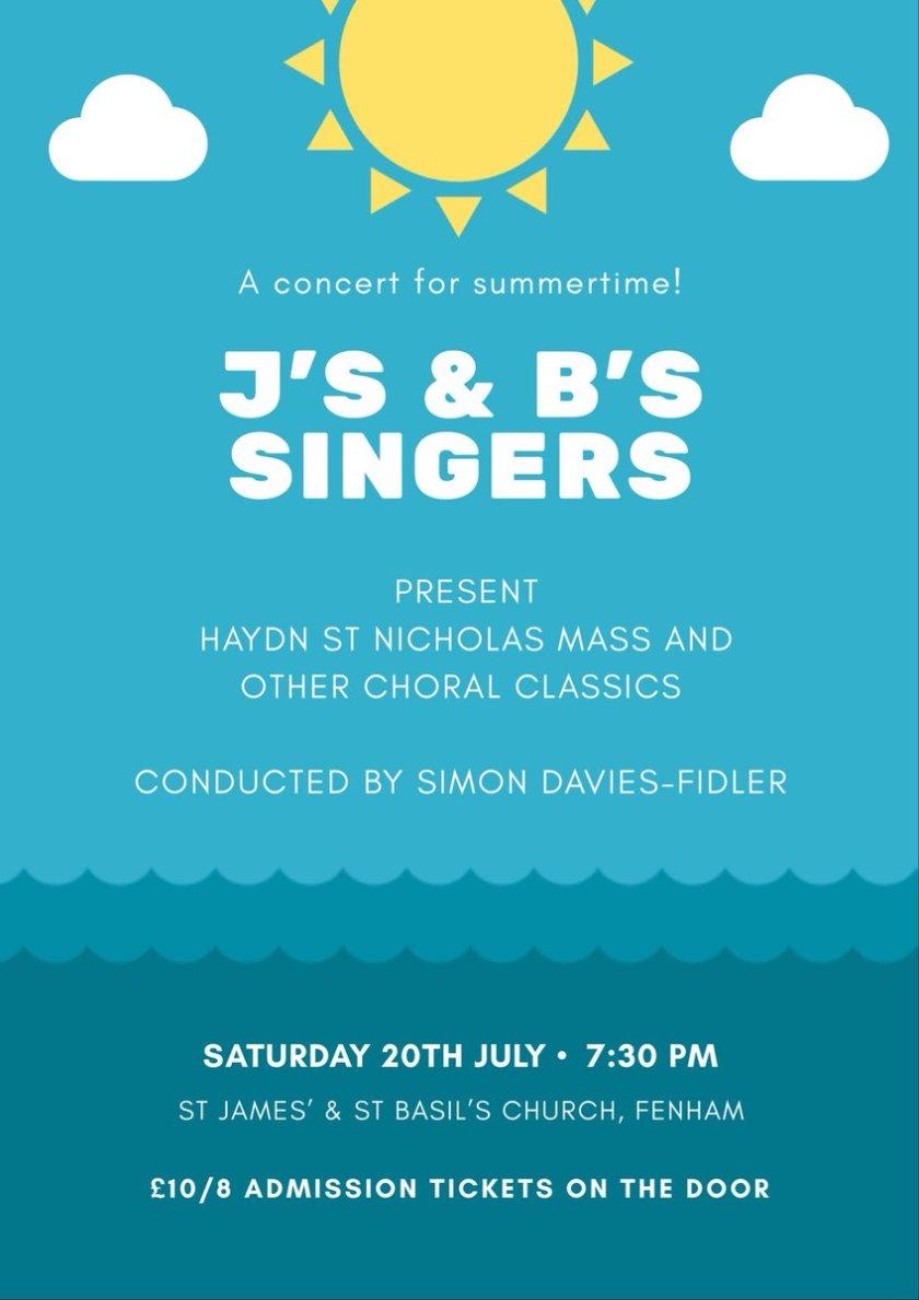Js and Bs Singers Fenham