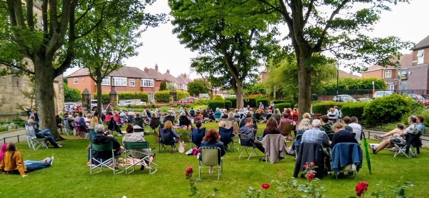 Jazz in the garden
