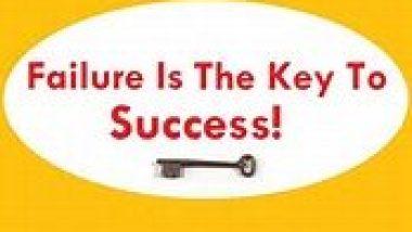 faiure is the key to success