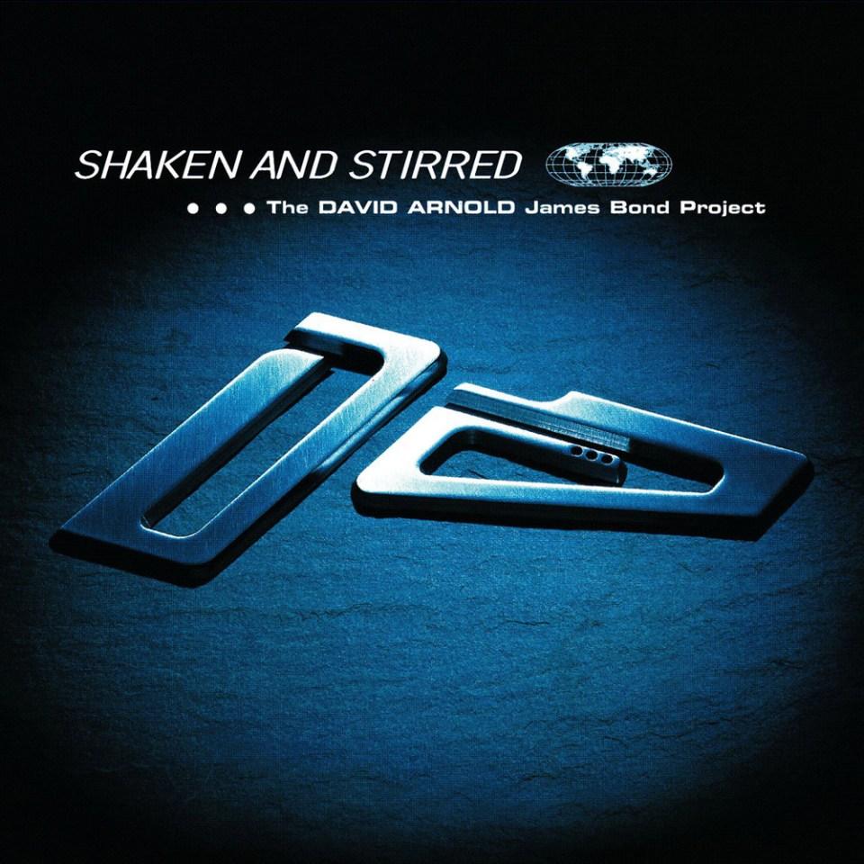 Shaken and Stirred : l'album de reprise de musique de James Bond produit par David Arnod qui l'a fait connaitre