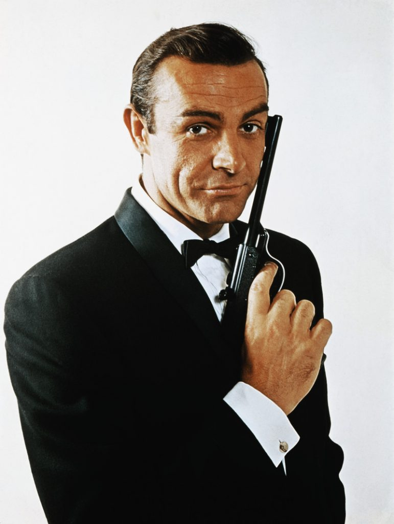 Sean Connery as James Bond