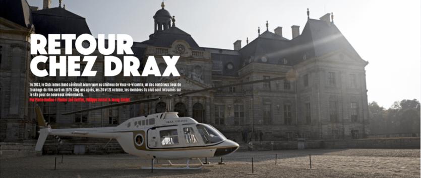 Retour chez Drax : l'évènement 2018 du Club
