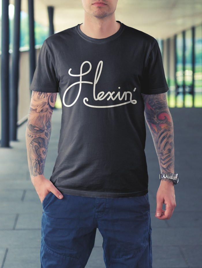 Flexin'-tshirt-male-mockup