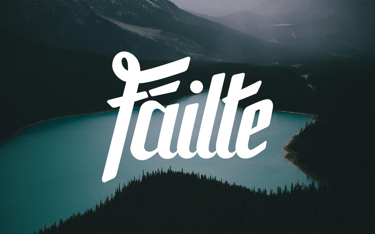 Failte-Lettering-Photo