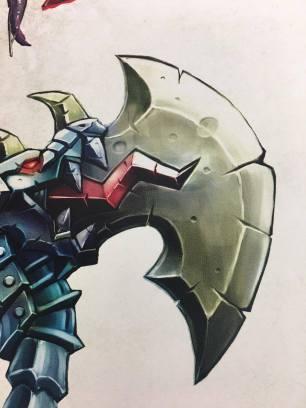 dragon axe