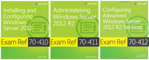 MCSA Windows Server 2012 reading