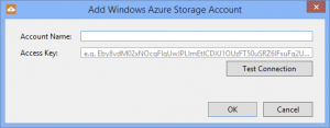 Add Storage Account to Azure Explorer.