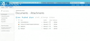 Attachments folder in the next version of SharePoint - SharePoint 2016.