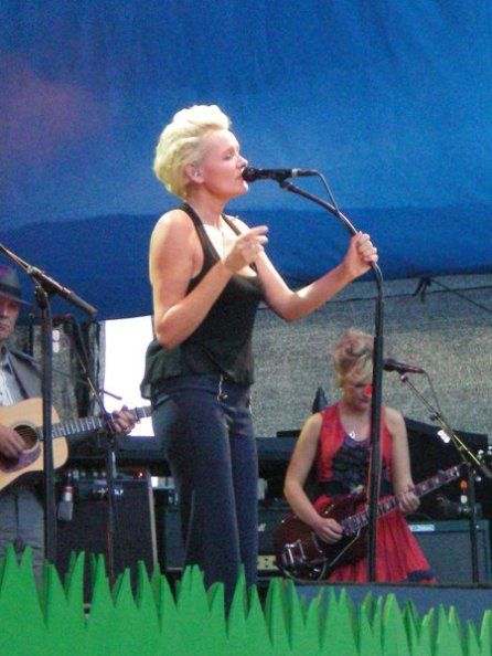 Eva Dahlgren at Skansen