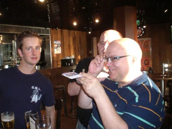 Patrick Blake, James O'Brien, Grant Whittingham