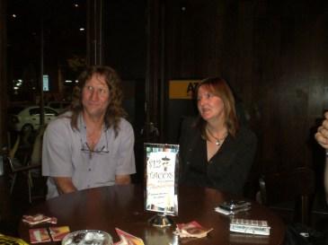 Greg Roberts and Judy Sawyer