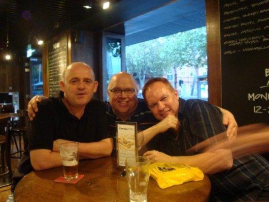 James O'Brien, Grant Whittingham, Graeme Read