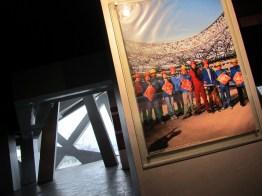 Photographs inside the Beijing Olympic Stadium