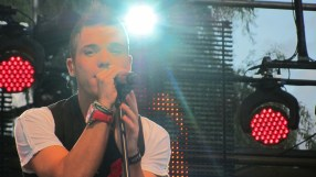 Anthony Callea performs at Stockholm Pride