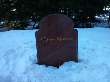 Greta Garbo Grave