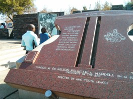 Visiting Soweto - Memorial