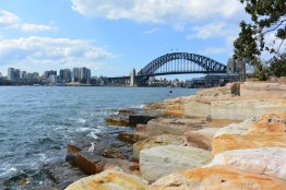 Sydney Harbour Bridge, as viewed from Barangaroo Reserve