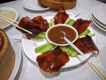 PEKING DUCK AT EAST OCEAN