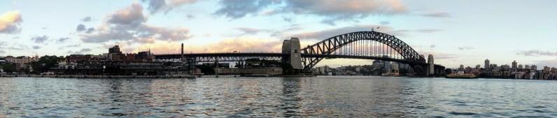 Sydney Harbour Bridge panorma