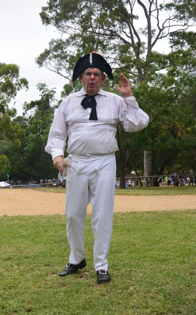 Tour guide at Parramatta's Old Government House